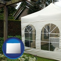 colorado a garden party tent