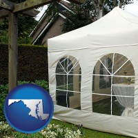 maryland a garden party tent
