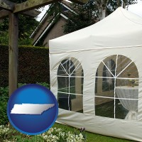 tennessee a garden party tent