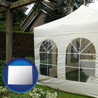 wyoming a garden party tent